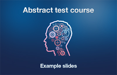 Abstract Course introduction