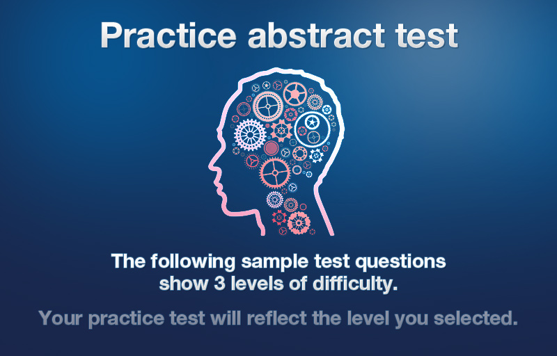 Practice Abstract Aptitude Tests And Courses
