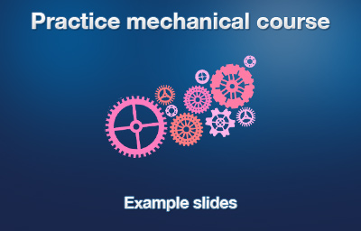 Mechanical Course introduction