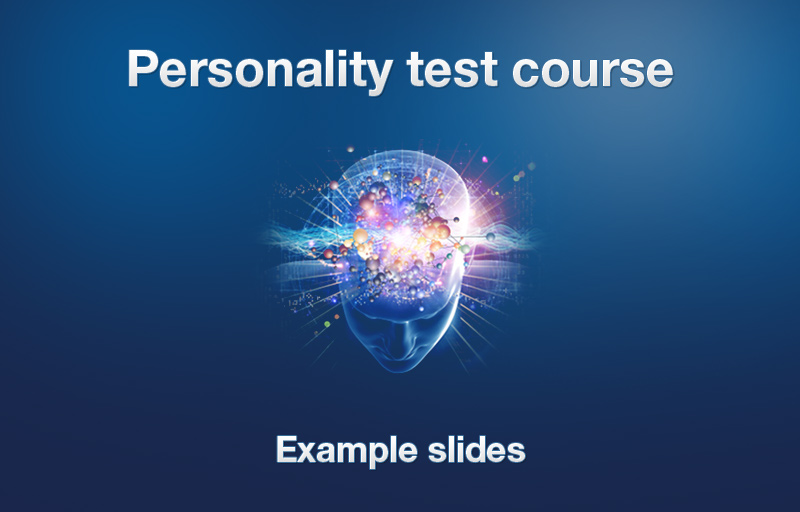 complete personality test