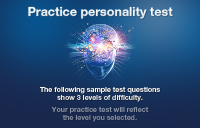 Practice personality test introduction