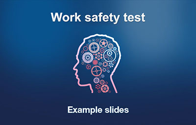 Practice Work Safety introduction